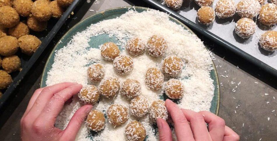 Citronboll med lakrits och chia