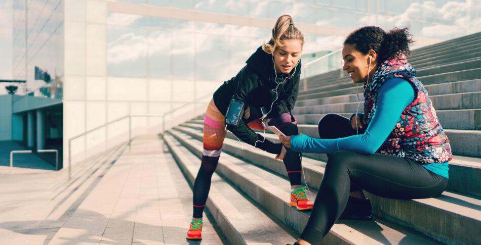 Träningsdejta i höst – tre tips på roliga löppass