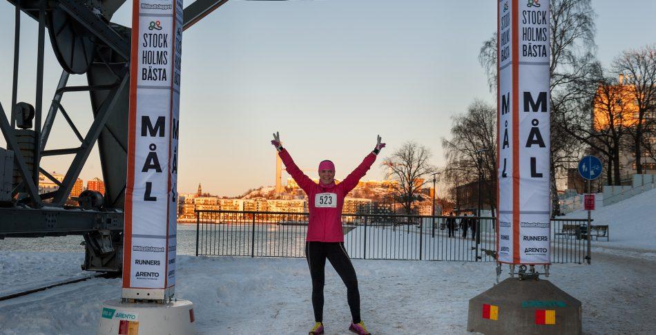 Stockholms Bästa: Snabba och glada löpare på premiärloppet
